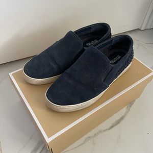 Michael Kors Blue Loafers - Size 7